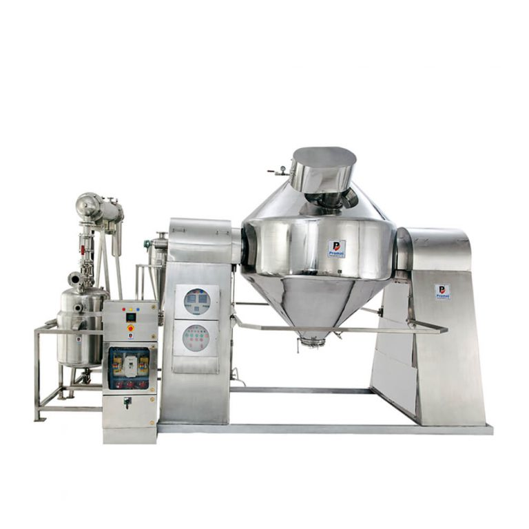 An Overview of  Rotary Cone Vaccum Dryer