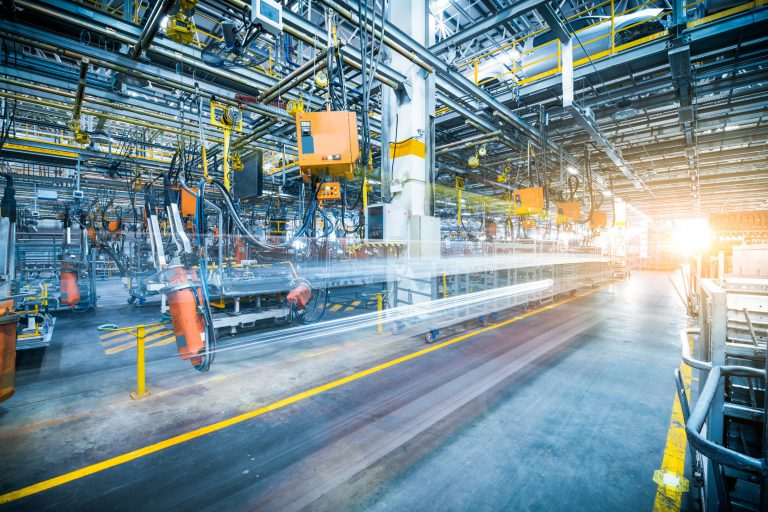 The rise of technology in a manufacturing industry