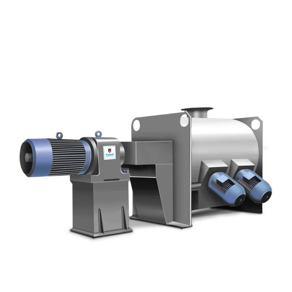 Plough Shear Mixer as high efficiency in Food Industry